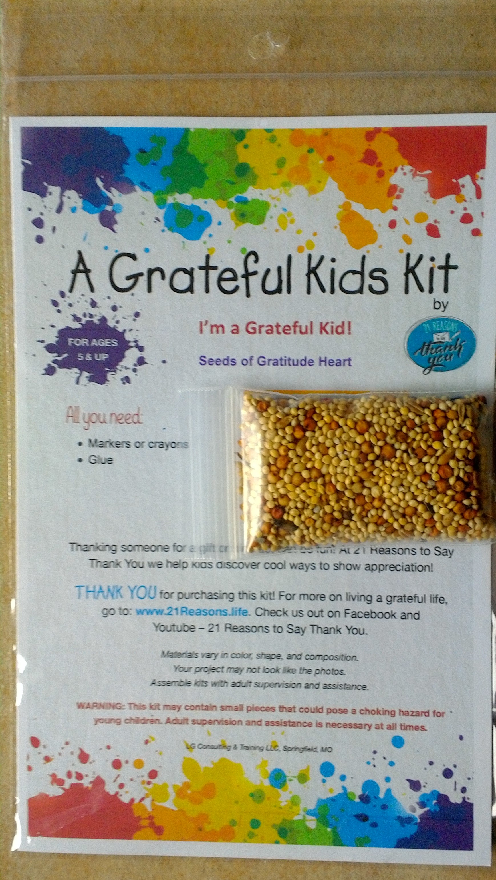 21 Reasons To Say Thank You Just For Kids